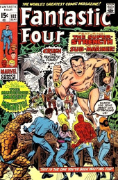 Fantastic Four (1961) -102- The strength of the sub-mariner