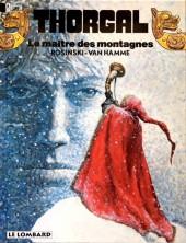 Thorgal -15b1997- Le maître des montagnes