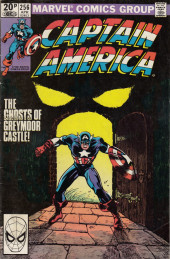 Captain America (1968) -256UK- THe ghost of Greymoor castle