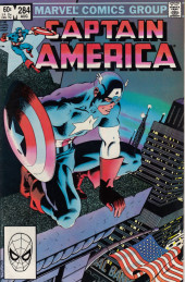 Captain America (Marvel comics - 1968) -284- Diverging