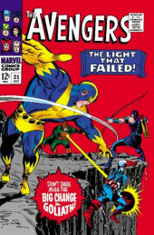 Avengers Vol. 1 (Marvel Comics - 1963) -35- The Light That Failed!