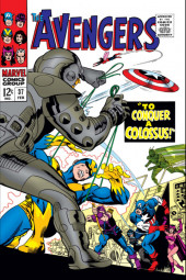 Avengers Vol. 1 (Marvel Comics - 1963) -37- To Conquer a Colossus!