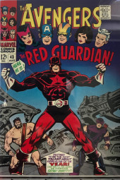 Avengers (The) (1963) -43- Color Him... the Red Guardian!