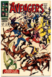 Avengers Vol. 1 (Marvel Comics - 1963) -44- The Valiant Also Die!