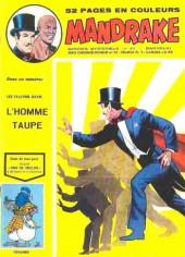 Mandrake (1re Série - Remparts) (Mondes Mystérieux - 1) -411- L'homme taupe