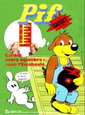 Pif (Gadget) -308- Gardez votre équilibre : voici l'escaboule
