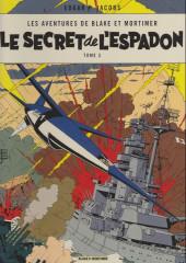 Blake et Mortimer -3d13- Le secret de l'espadon - tome 3
