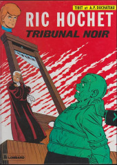 Ric Hochet -32a1990- Tribunal noir