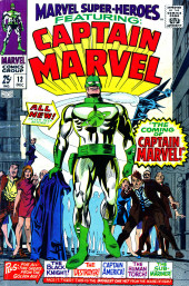 Marvel Super-heroes Vol.1 (Marvel comics - 1967) -12- The coming of Captain Marvel