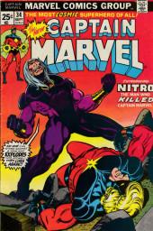 Captain Marvel (1968) -34- Blown away
