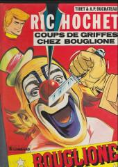 Ric Hochet -25a86- Coups de griffes chez bouglione
