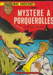 Ric Hochet -2a1978'- Mystère à Porquerolles