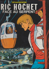 Ric Hochet -8a86- Face au serpent