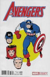 Avengers Vol.7 (Marvel comics - 2017) -672D- Worlds Collide: Part One