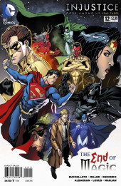 Injustice: Gods Among Us : Year Three (2014) -12- The End of Magic