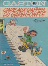 Gaston -R3 80a- Gare aux gaffes du gars gonflé