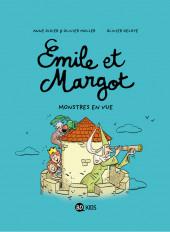 Émile et Margot -8- Monstres en vue