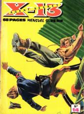 X-13 agent secret -14- La menace