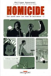 Homicide - Une année dans les rues de Baltimore -3- 10 février - 2 avril 1988