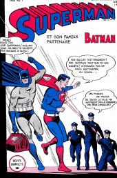 Superman l'homme d'acier puis Superman et Batman (1re Série Interpresse) -7- Superman et Batman hors-la-loi !