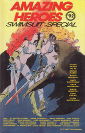 Amazing Heroes Swimsuit Special (1990) -3- Amazing heroes swimsuit special 1992
