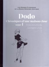 Les grands Classiques de la Bande Dessinée érotique - La Collection -4870- Dodo Chronique d'une maison close - tome 1