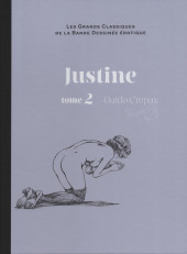 Les grands Classiques de la Bande Dessinée érotique - La Collection -4965- Justine - Tome 2