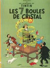 Tintin (Historique) -13B39- Les 7 boules de cristal