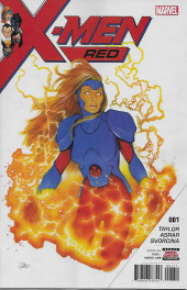 X-Men: Red (2018) -1- The Hate Machine Part 1: Heal the World