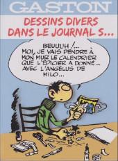 Gaston (Hors-série) -Pir- Dessins divers dans le journal s...