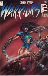Warriors 1993 Calendar -1- Cry for Dawn's Warriors 1993 Calendar