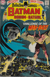 Detective Comics (1937) -400- Challenge of the Man-Bat!