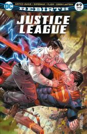 Justice League Rebirth (DC Presse) -9- Tome 9