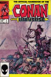 Official handbook of the Conan Universe (1986) -1- The official handbook of the Conan Universe