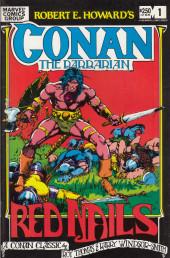 Conan the Barbarian (1970) -OS- Robert E. Howard's Conan: Red nails