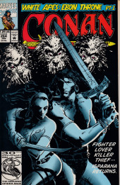Conan the Barbarian Vol 1 (Marvel - 1970) -264- White apes and ebon thrones