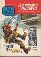 Télé série bleue (Les hommes volants, Destination Danger, etc.) -13- L'énigme du