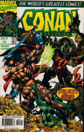 Conan the Barbarian Vol 2 (Marvel - 1997) -3- Conan and the Stalker of the Woods, Part III