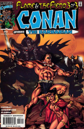 Couverture de Conan the Barbarian: Flame & the Fiend (2000) -3- Conan the Barbarian: Flame & the Fiend Part Three of Three