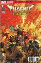 Phoenix Resurrection: The Return of Jean Grey (2017) -4- Chapter Four: That A Great Princess Falls, But Doth Not Die