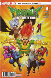 Phoenix Resurrection: The Return of Jean Grey (2017) -5- Chapter Five: Be Thou Those Ends