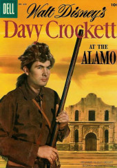 Four Color Comics (Dell - 1942) -639- Davy Crockett at the Alamo