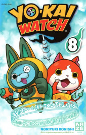 Yo-Kai watch -8- Tome 8