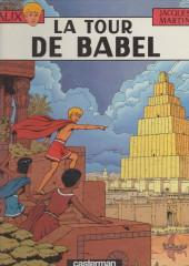 Alix -16b1987- La tour de Babel