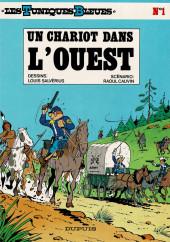 Les tuniques Bleues -1d95- Un chariot dans l'ouest
