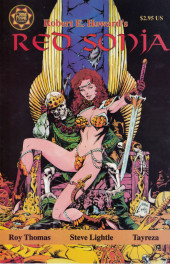 Red Sonja: A Death in Scarlet - Tome 1