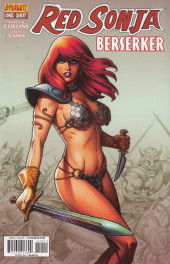 Couverture de Red Sonja: Berserker (2014) - Red Sonja: Berserker