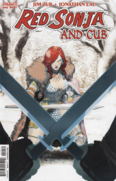 Red Sonja and Cub (2014) - Red Sonja and Cub