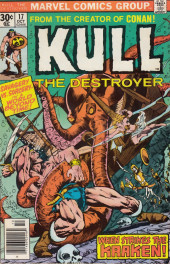 Kull the Destroyer (1973) -17- The thing from emerald darkness