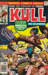 Kull the Destroyer (1973) -18- The keeper of flame and frost